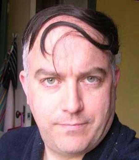 coupe de cheveux homme ridicule
