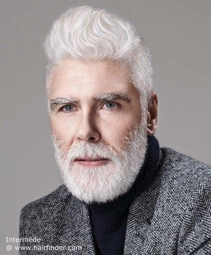 coiffure homme mur