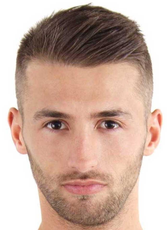 coupe de cheveux homme court simple