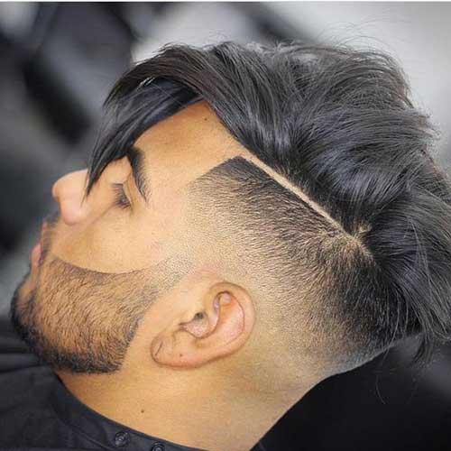 coupe de cheveux homme degrade fondu