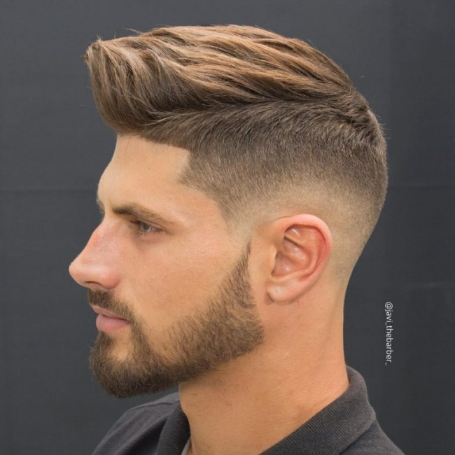 coupe de cheveux homme degrade sur les cotes - Coupe pour ...