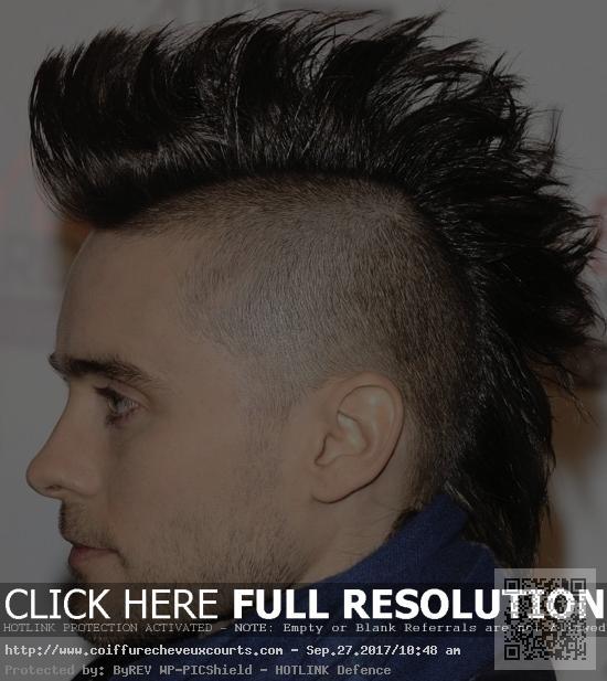 Coupes de cheveux des hommes Г la mode avec le mohawk