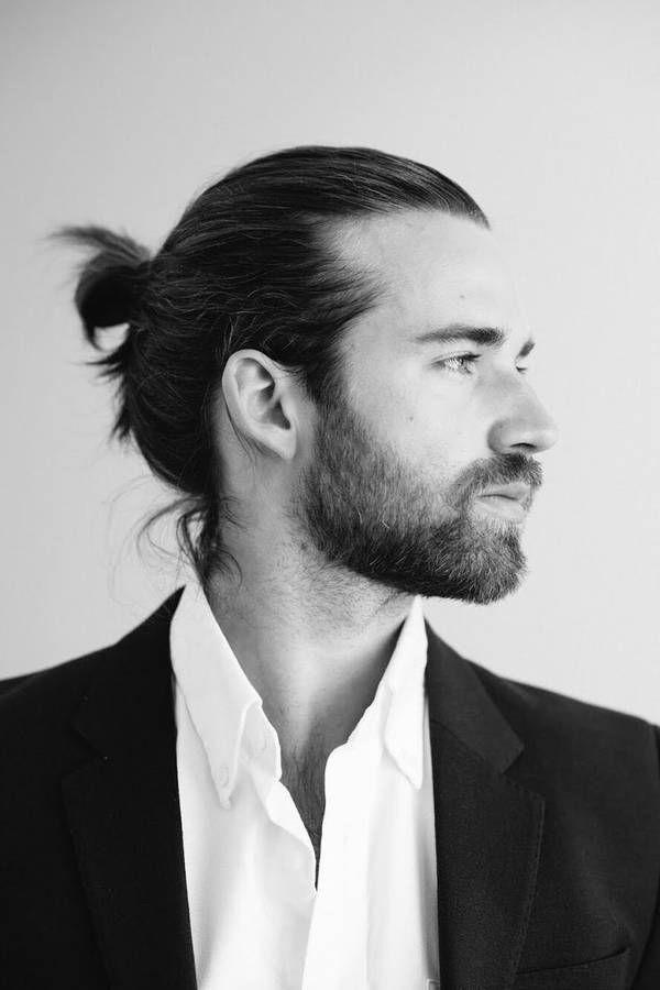 coupe de cheveux homme queue de cheval