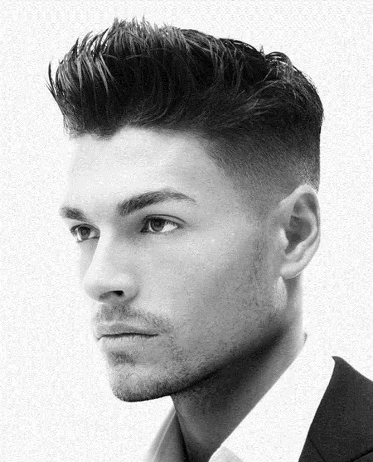 coupe de cheveux homme simple